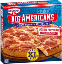 Big Americans XL Double Pepperoni