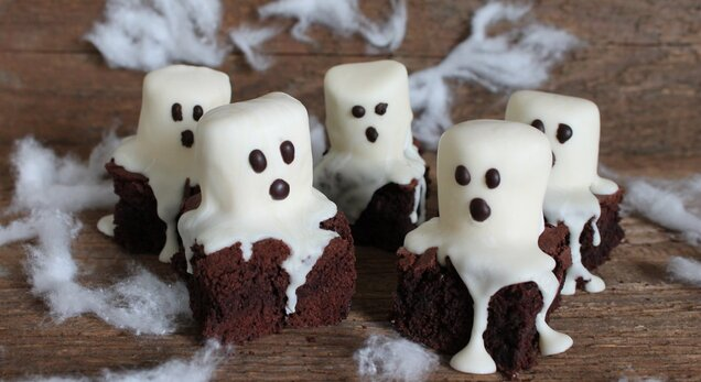 Brownie spookjes